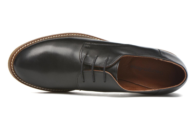 Zapatos con cordones Georgia Rose Lucreppy Negro vista lateral izquierda