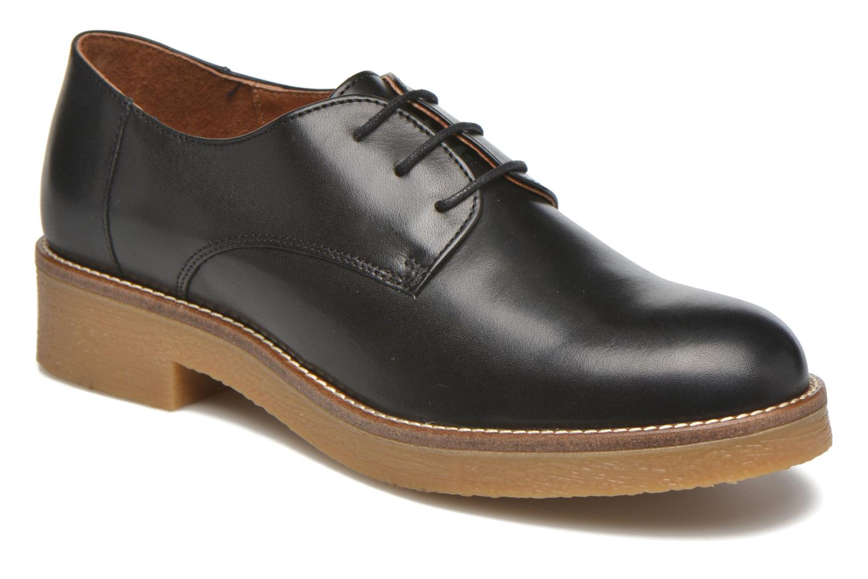 Zapatos con cordones Georgia Rose Lucreppy Negro vista de detalle / par