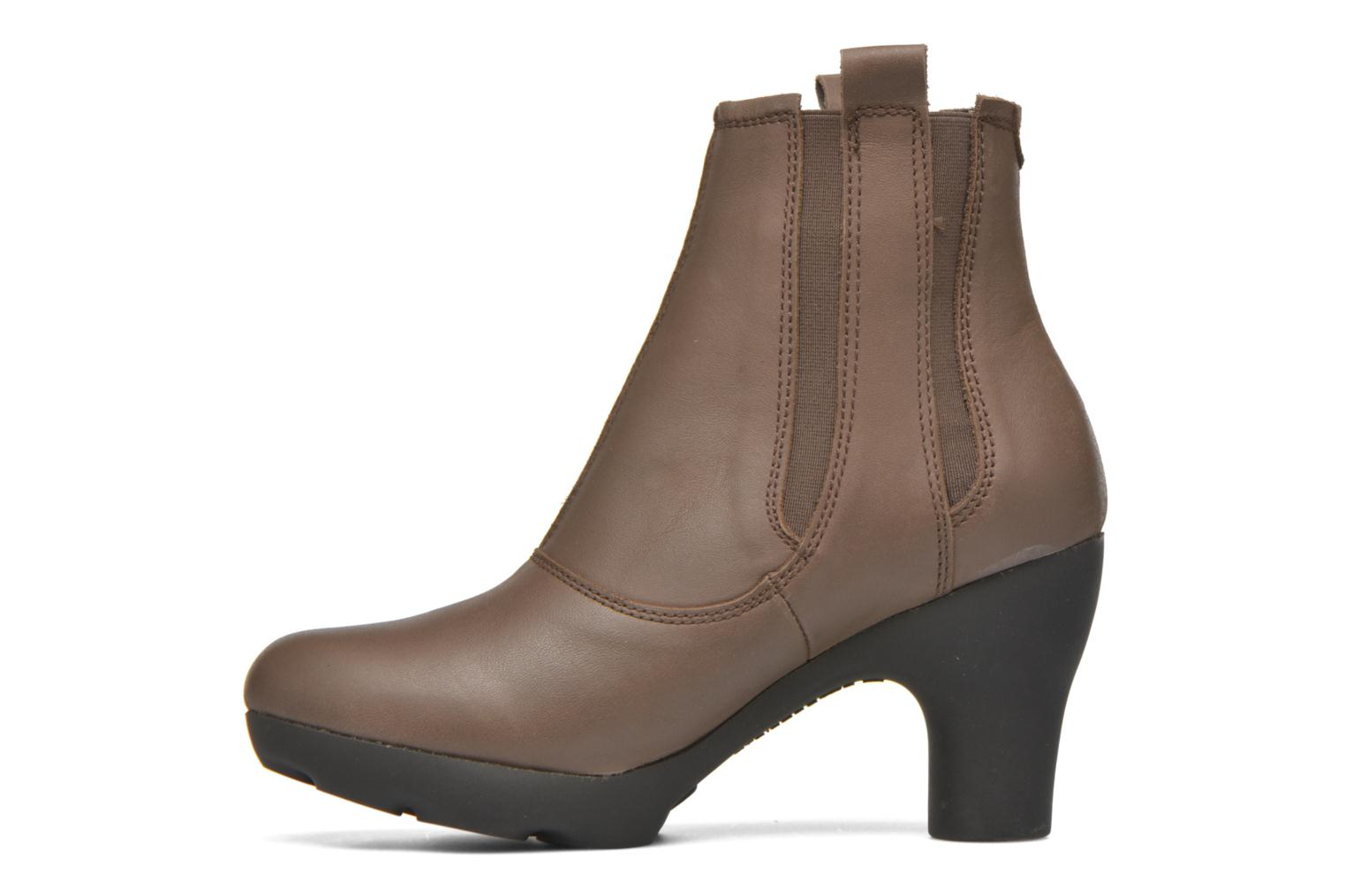 Ankle boots El Naturalista Octopus NC18 Brown front view