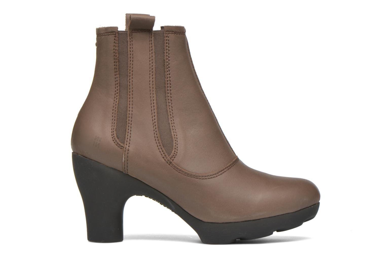 Ankle boots El Naturalista Octopus NC18 Brown back view