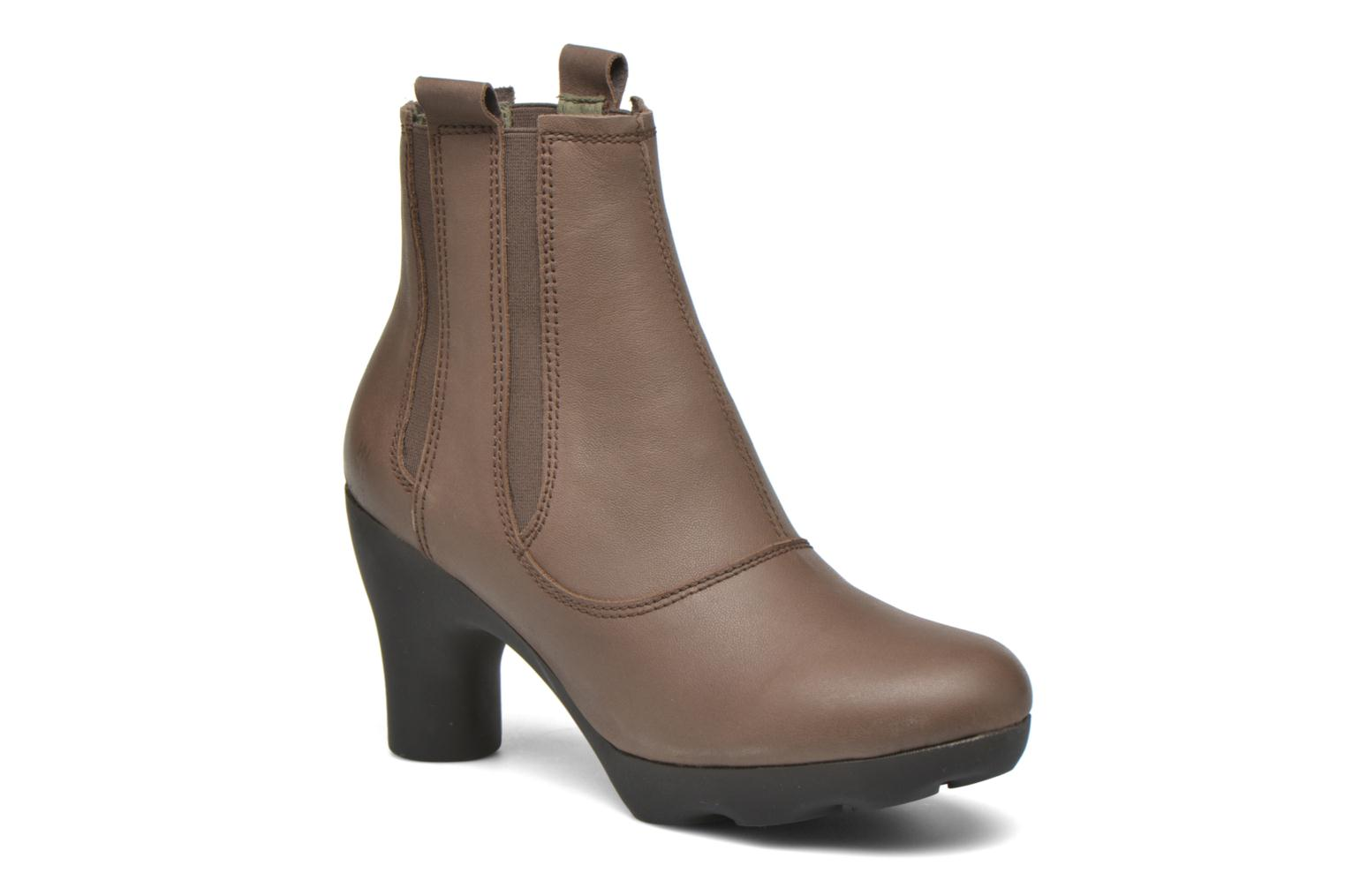 Ankle boots El Naturalista Octopus NC18 Brown detailed view/ Pair view