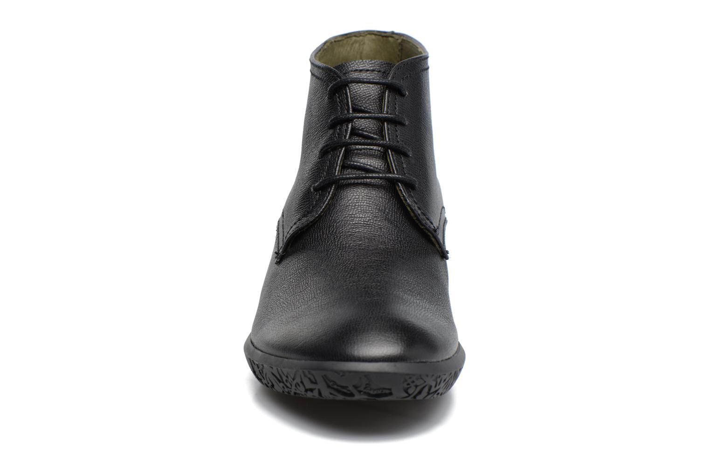 Schnürschuhe El Naturalista Alhambra NG11 schwarz schuhe getragen