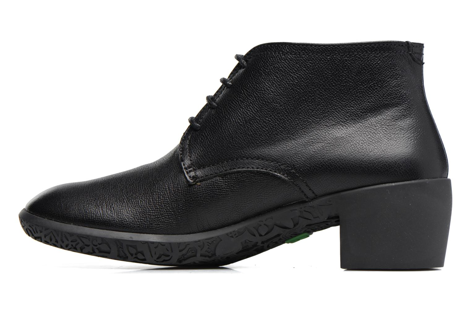 Lace-up shoes El Naturalista Alhambra NG11 Black front view