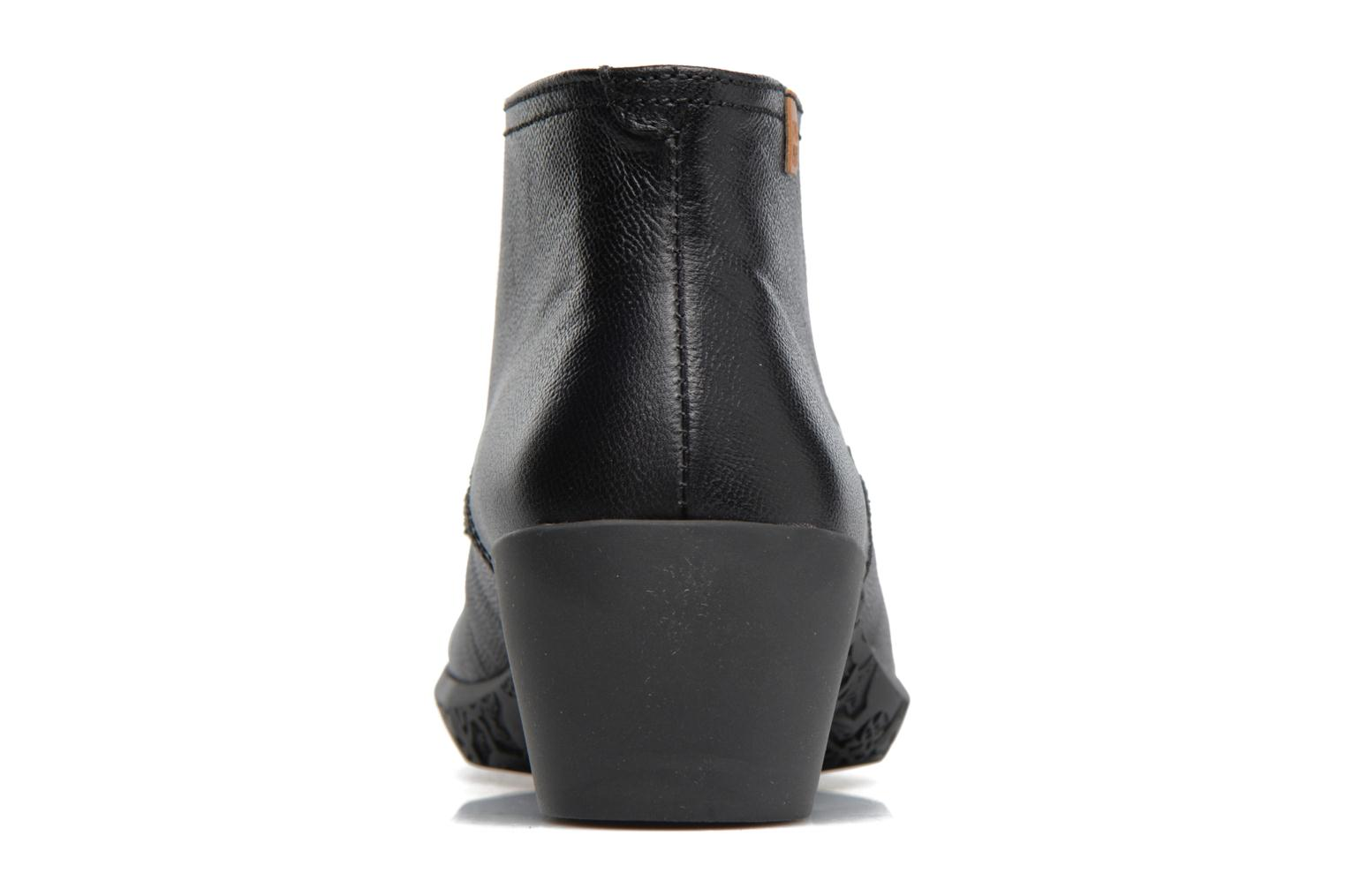 Lace-up shoes El Naturalista Alhambra NG11 Black view from the right