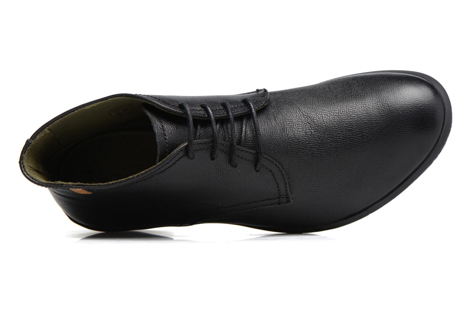 Lace-up shoes El Naturalista Alhambra NG11 Black view from the left