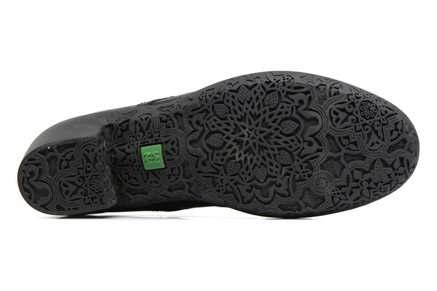 Lace-up shoes El Naturalista Alhambra NG11 Black view from above