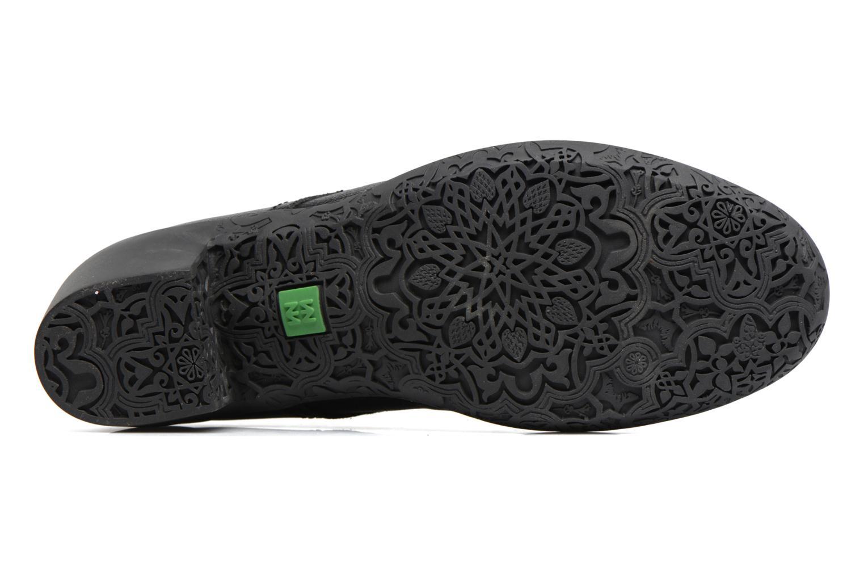 Chaussures à lacets El Naturalista Alhambra NG11 Noir vue haut
