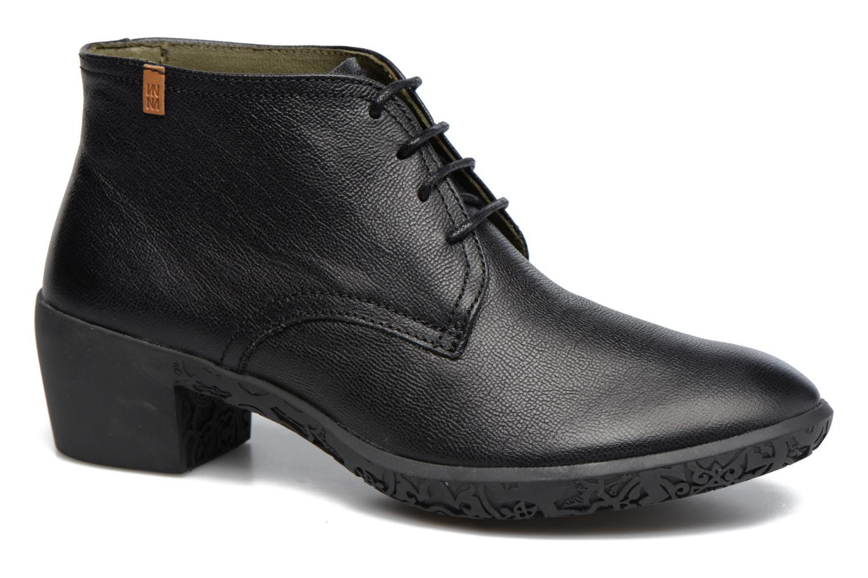 Chaussures à lacets El Naturalista Alhambra NG11 Noir vue détail/paire