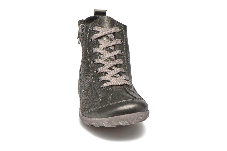 Baskets Remonte Juliane R3458 Gris vue portées chaussures