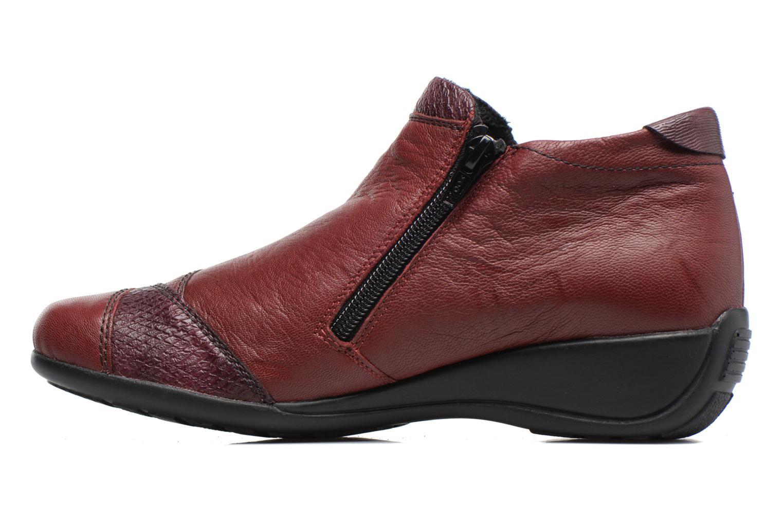 Bottines et boots Remonte Laure R9883 Bordeaux vue face