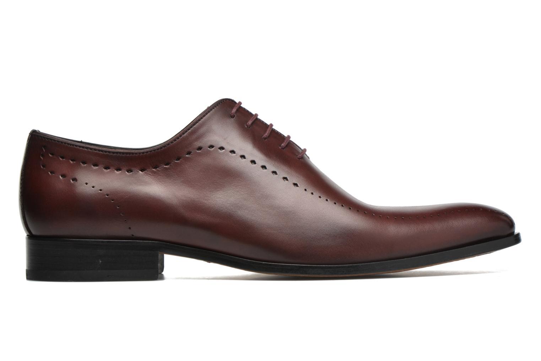Chaussures à lacets Brett & Sons Raya Bordeaux vue derrière