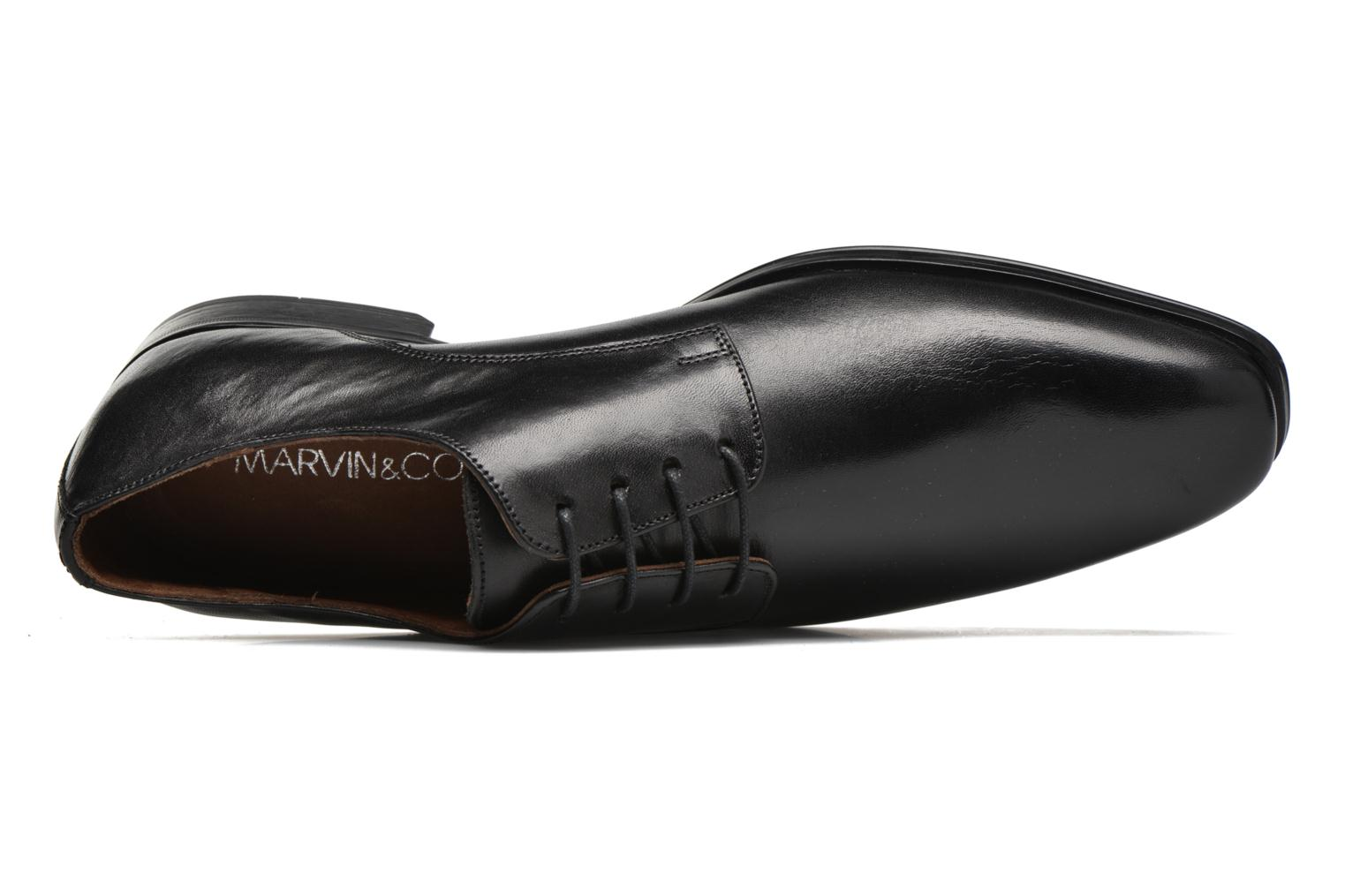Veterschoenen Marvin&Co Thorne Zwart links