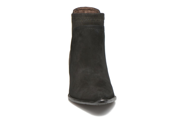 Bottines et boots Madison AYAM #Mul Ch Velours NOIR Noir vue portées chaussures