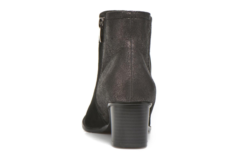 Bottines et boots Madison AYAM #Mul Ch Velours NOIR Noir vue droite