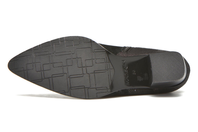 Bottines et boots Madison AYAM #Mul Ch Velours NOIR Noir vue haut