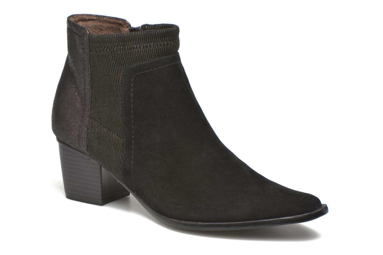 Bottines et boots Madison AYAM #Mul Ch Velours NOIR Noir vue détail/paire