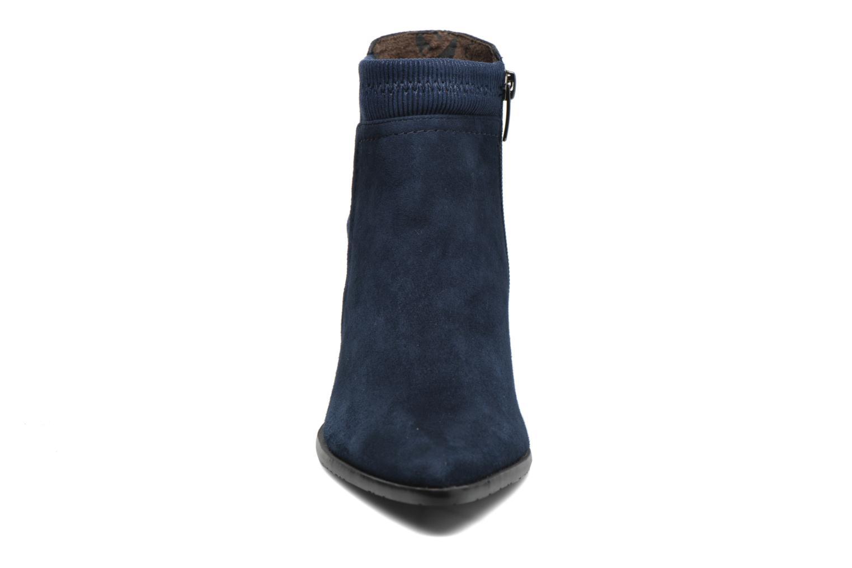 Bottines et boots Madison AYAM *Mul Ch Velour OCEAN Bleu vue portées chaussures