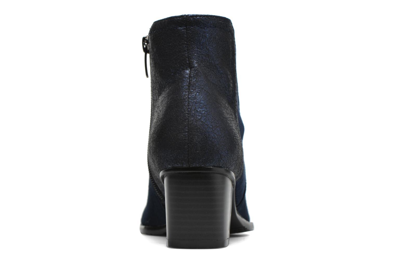 Bottines et boots Madison AYAM *Mul Ch Velour OCEAN Bleu vue droite