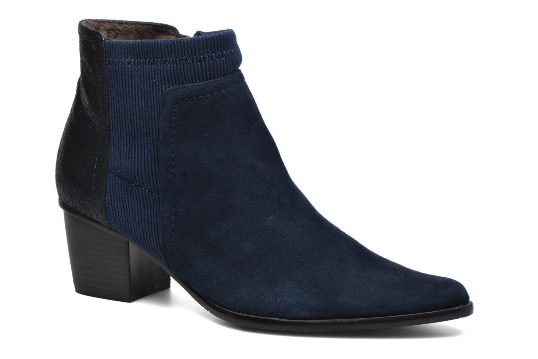 Bottines et boots Madison AYAM *Mul Ch Velour OCEAN Bleu vue détail/paire