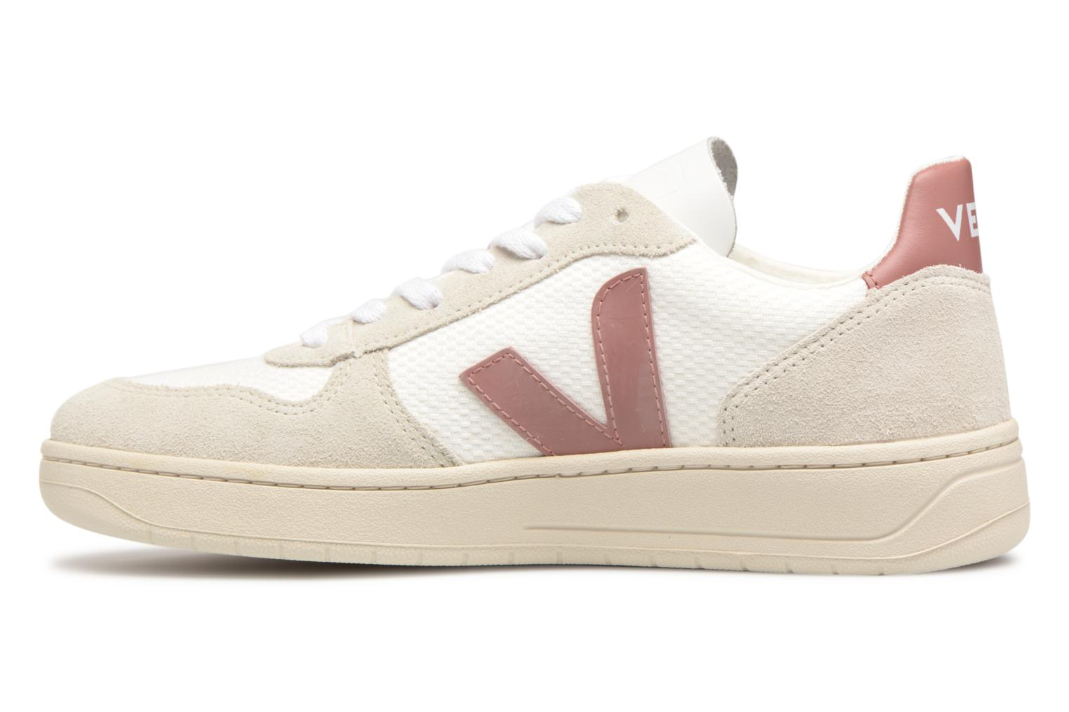 Baskets Veja V-10 W Rose vue face