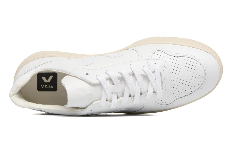 Baskets Veja V-10 Blanc vue gauche