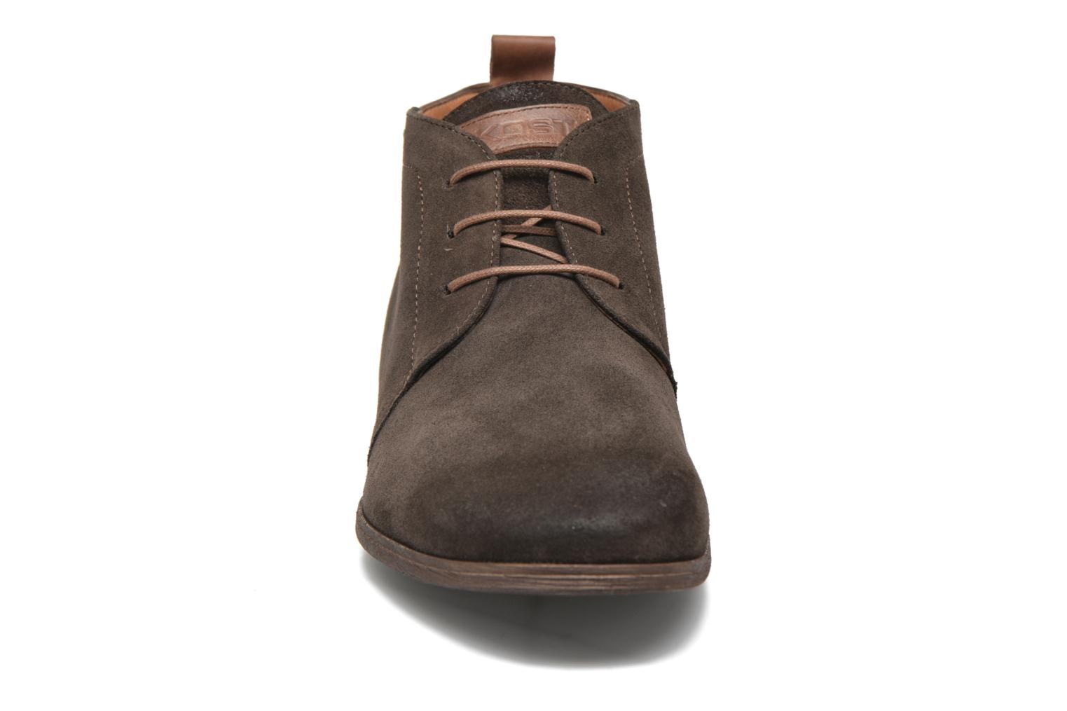 Lace-up shoes Kost Zepi76 Brown model view