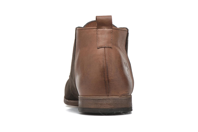Zapatos con cordones Kost Zepi76 Marrón vista lateral derecha