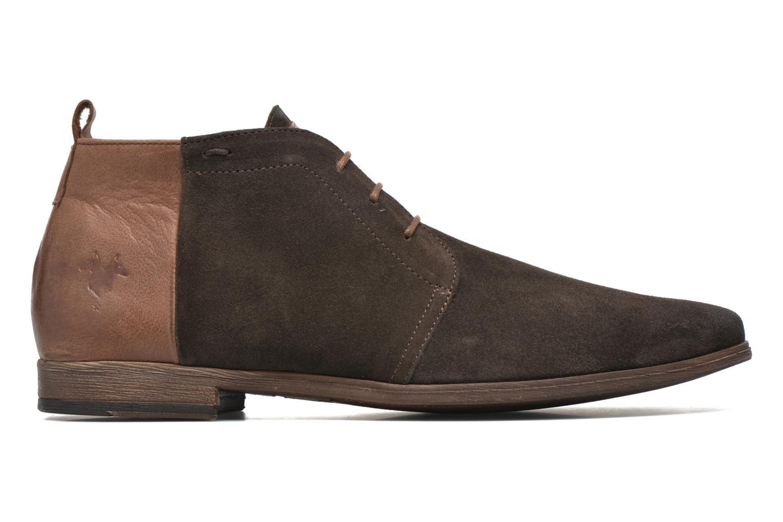 Zapatos con cordones Kost Zepi76 Marrón vistra trasera