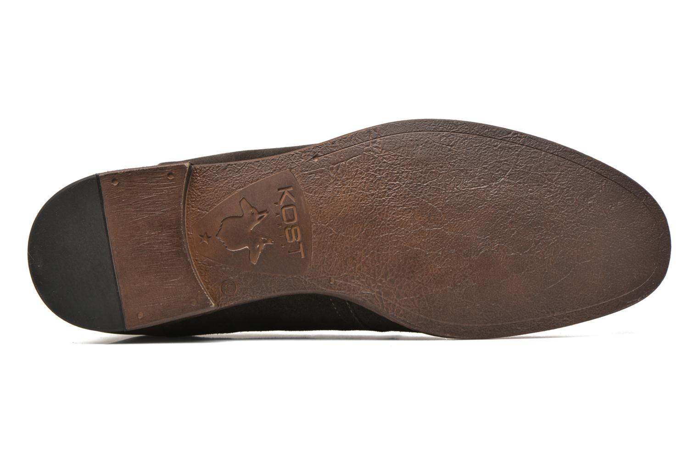 Zapatos con cordones Kost Zepi76 Marrón vista de arriba