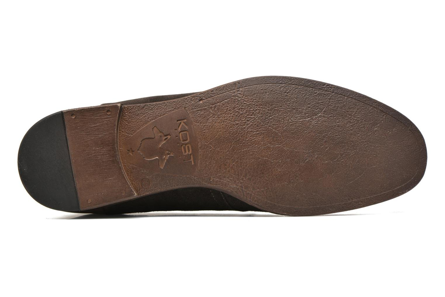 Lace-up shoes Kost Zepi76 Brown view from above