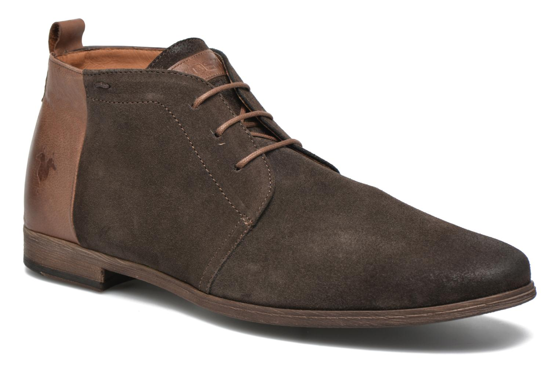 Zapatos con cordones Kost Zepi76 Marrón vista de detalle / par