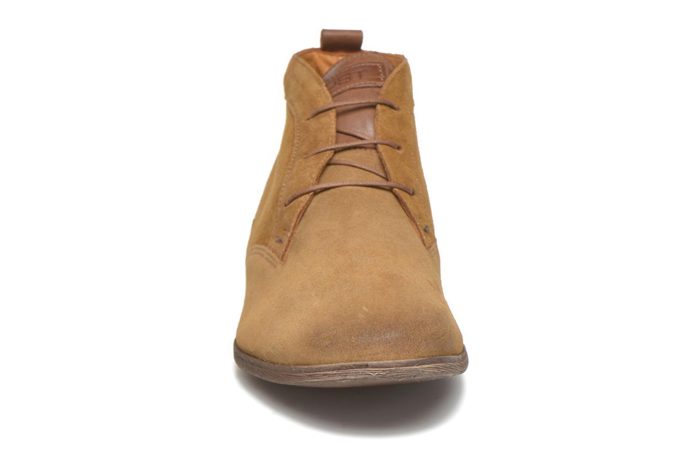 Chaussures à lacets Kost Klova59 Marron vue portées chaussures