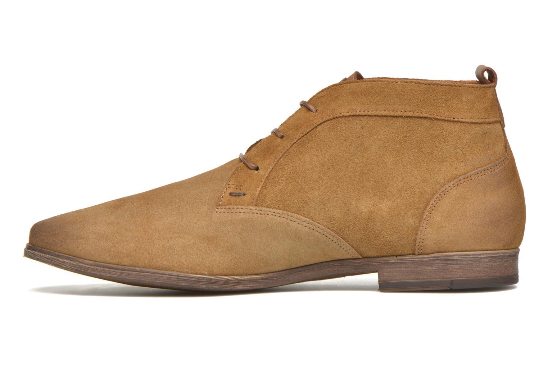 Chaussures à lacets Kost Klova59 Marron vue face