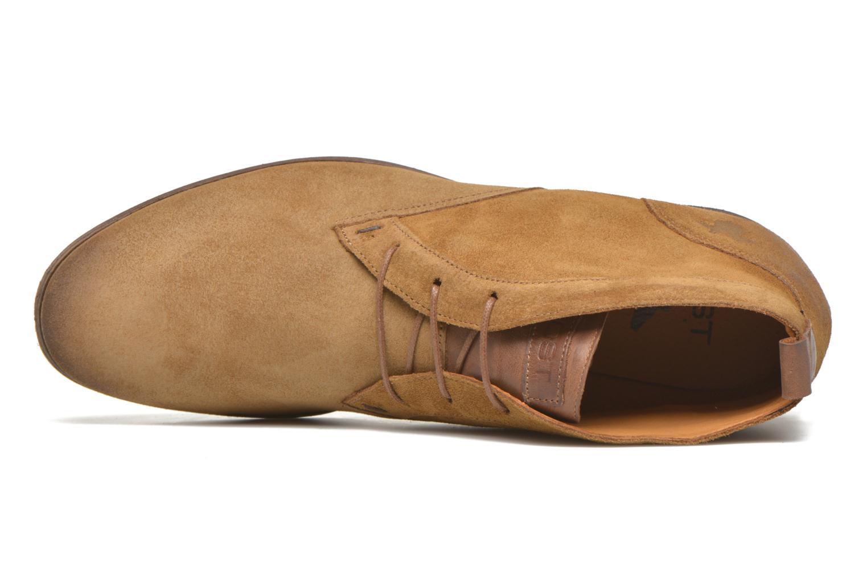 Chaussures à lacets Kost Klova59 Marron vue gauche