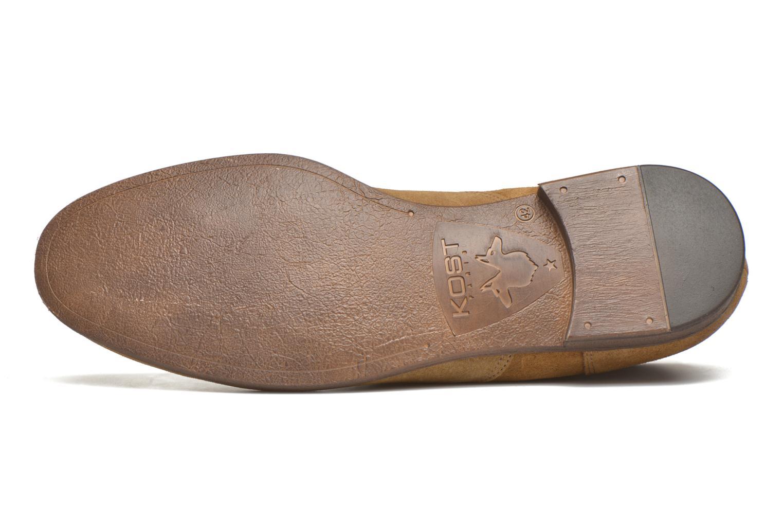 Chaussures à lacets Kost Klova59 Marron vue haut