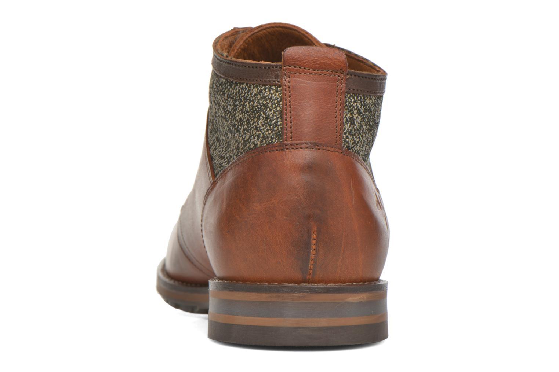 Zapatos con cordones Kost Renon25 Marrón vista lateral derecha