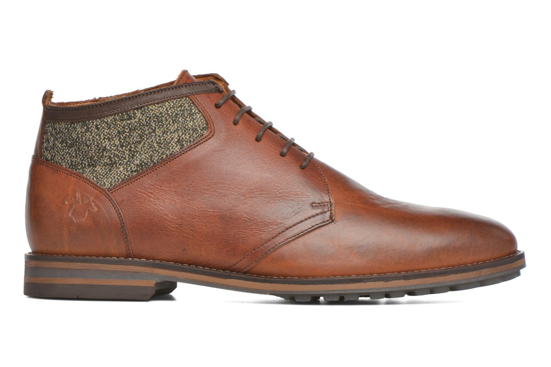 Zapatos con cordones Kost Renon25 Marrón vistra trasera
