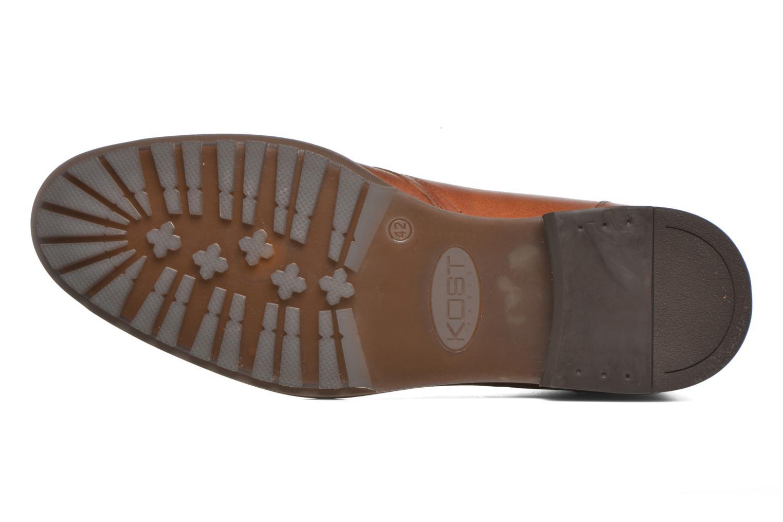 Zapatos con cordones Kost Renon25 Marrón vista de arriba