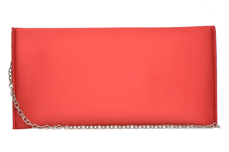 Handtaschen Menbur Pochette satin rot ansicht von vorne