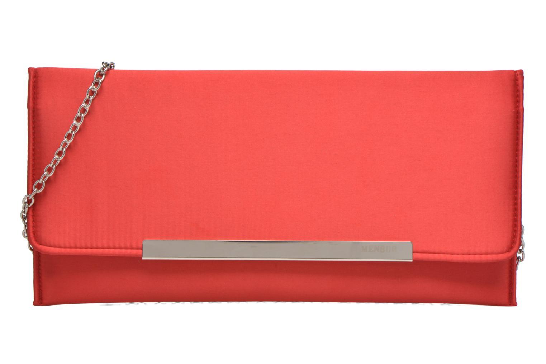 Handtaschen Menbur Pochette satin rot detaillierte ansicht/modell