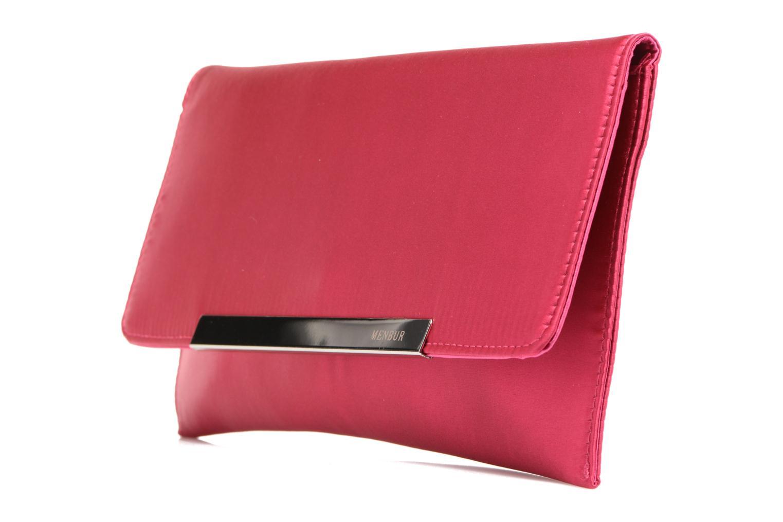 Handbags Menbur Pochette satin Pink model view