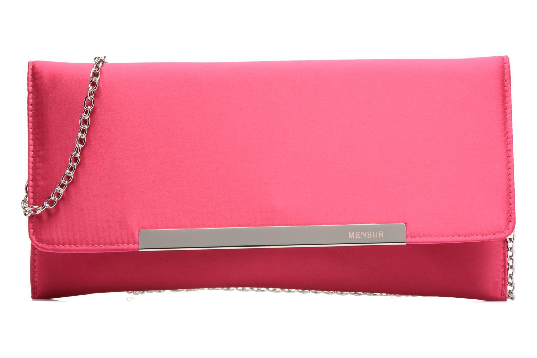 Handbags Menbur Pochette satin Pink detailed view/ Pair view