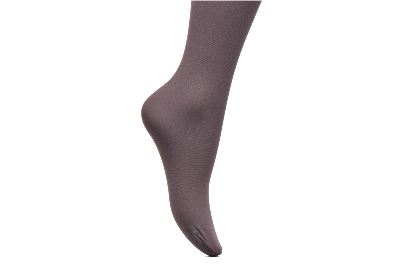 Socken & Strumpfhosen Bensimon Collants Unis lila ansicht von hinten