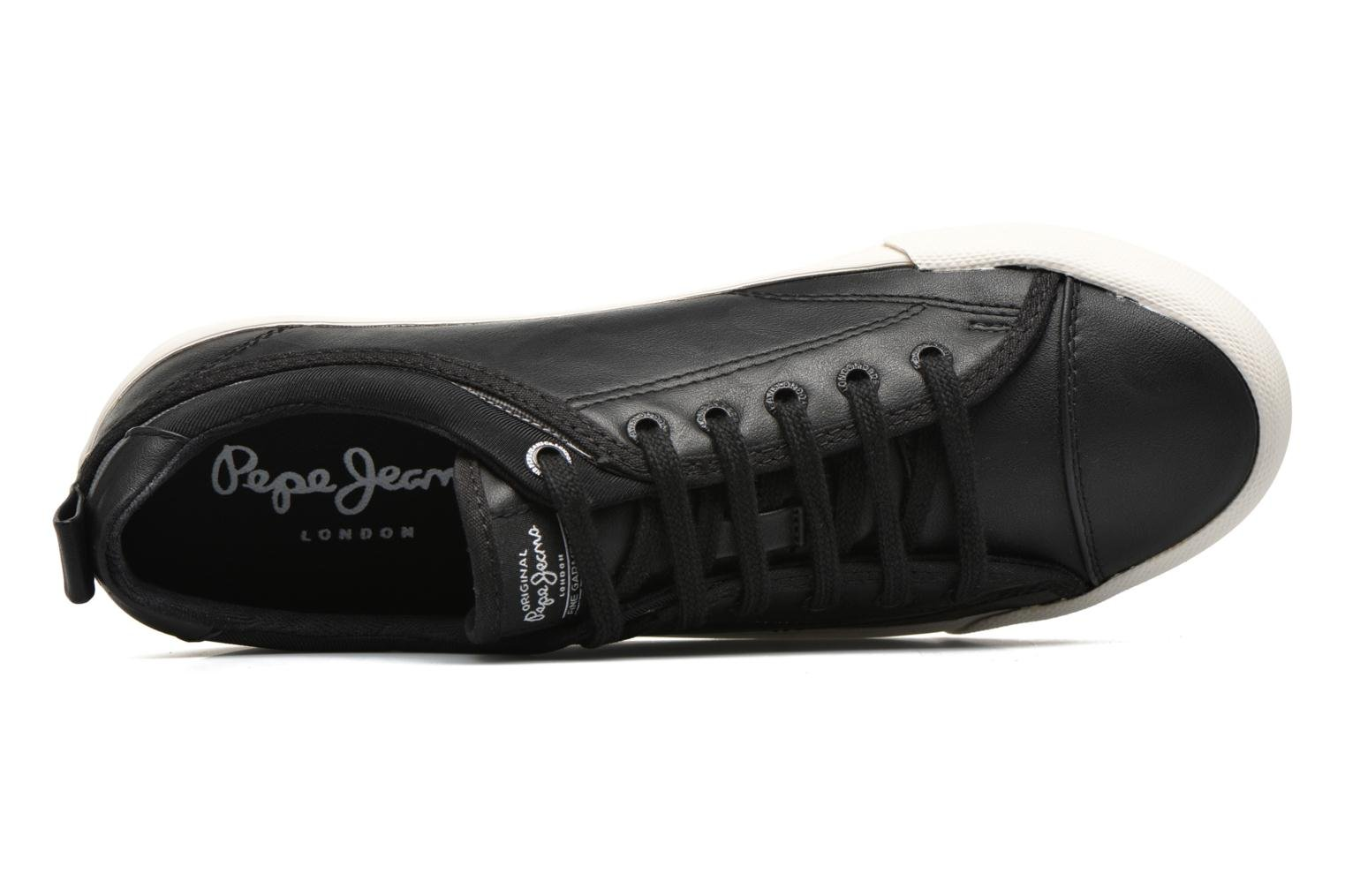 Sneakers Pepe jeans Britt Basic M Nero immagine sinistra