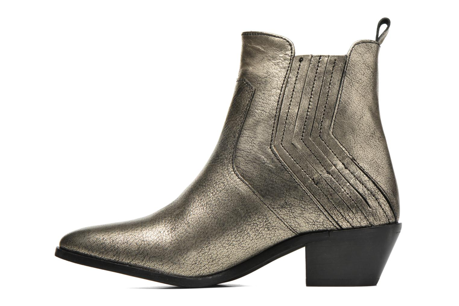 Ankle boots Pepe jeans Dina New Metal Bronze and Gold front view