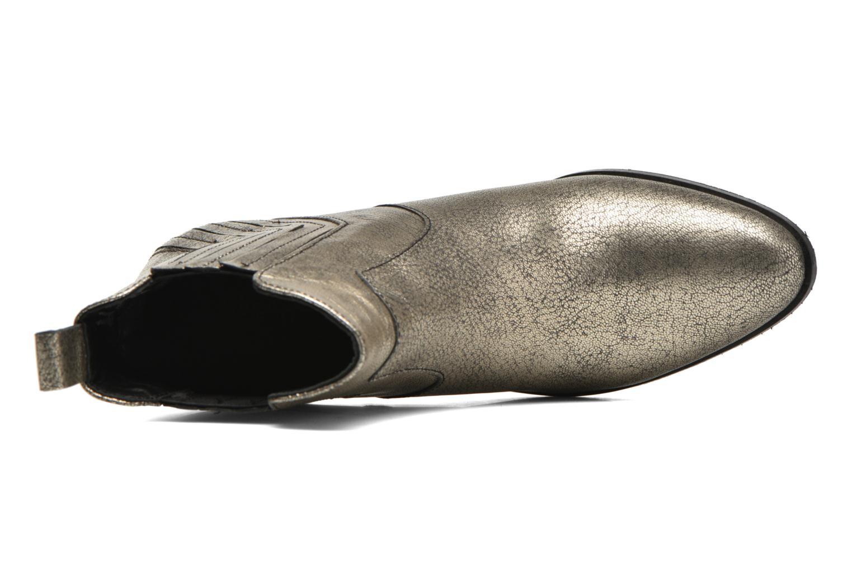 Botines  Pepe jeans Dina New Metal Oro y bronce vista lateral izquierda