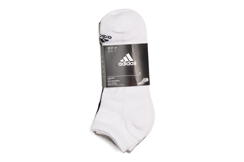 Medias y Calcetines Adidas Performance 3S PER N-S HC3P Blanco vista del modelo
