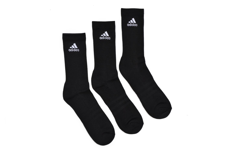 Sokken en panty's Adidas Performance 3S PER CR HC 3P Zwart detail