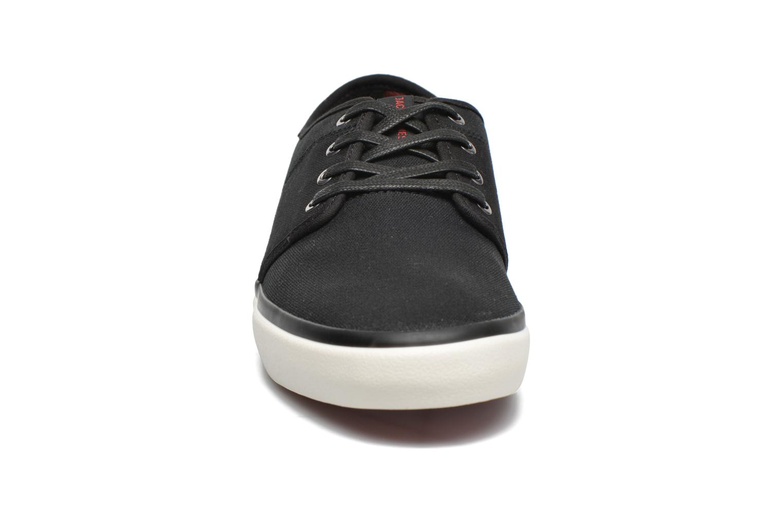 Sneakers Jack & Jones JJ Turbo Waxed Canvas Nero modello indossato