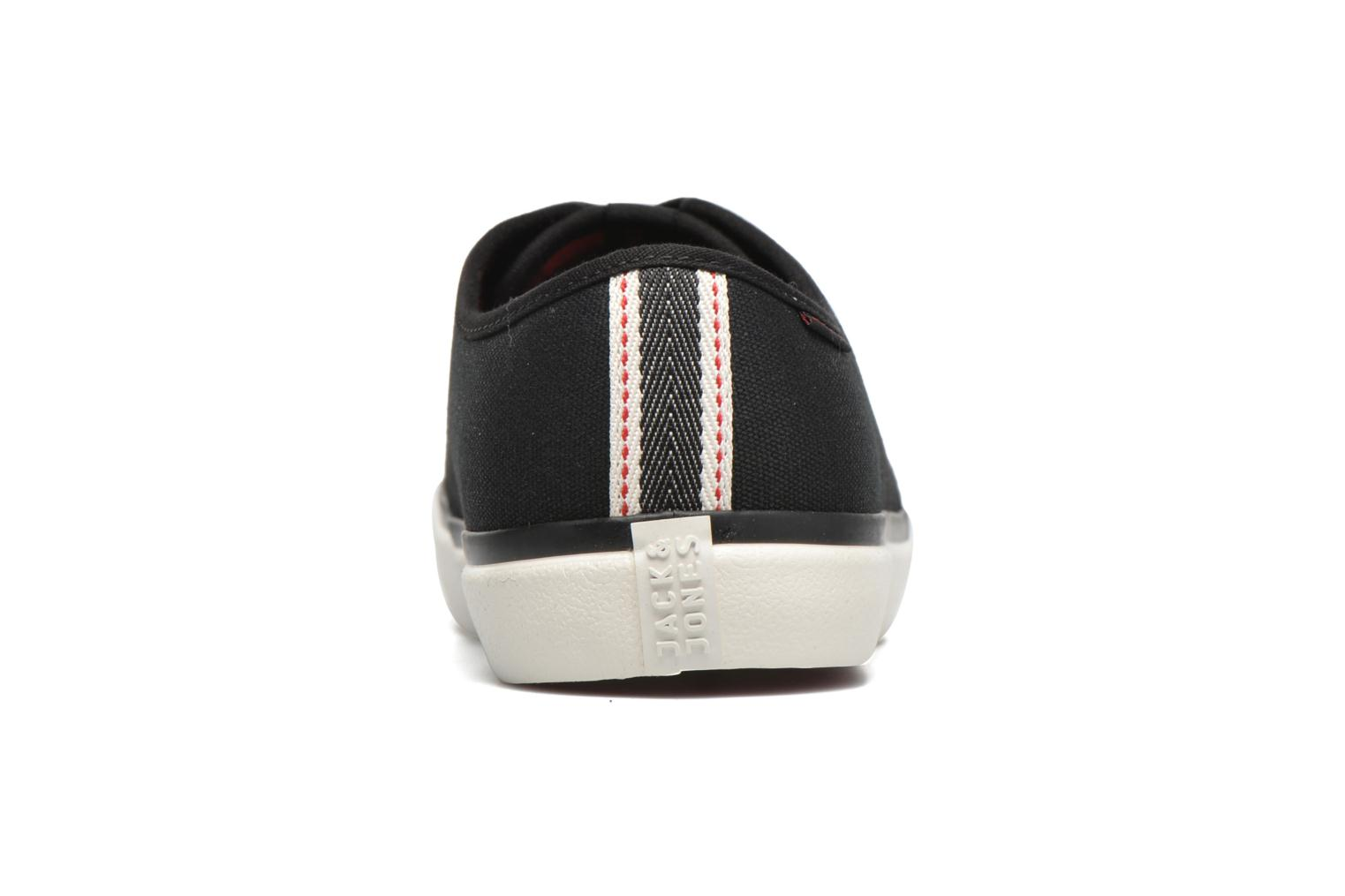 Trainers Jack & Jones JJ Turbo Waxed Canvas Black view from the right